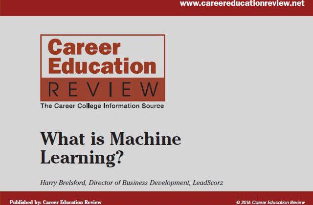 Machine Learning Archives | LeadScorz